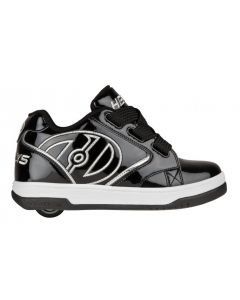 Heelys Propel 2.0 in Zwart en satijn Zilver (2018 Model)