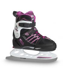 "Fila kinderskate ""X-One"" in zwart en roze"