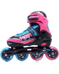 Move inline skate Fast girl