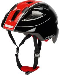 Puky Helm PH8 in Zwart en Rood - M
