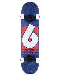 "Birdhouse Complete Skateboard Stage 3 Logo Red 8"""