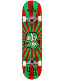 """Enuff Lucha Libre """"El Poeta"""" Complete Skateboard in Rood en Groen"""