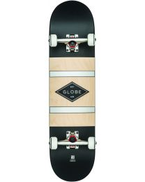"""Globe G1 Diablo2 8"""" Complete Skateboard in Zwart en Zilver"""