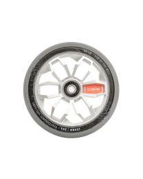 MGP 120mm Aluminium wiel in Grijs met Zilver Kern