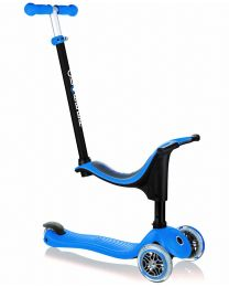 Globber Go Up 4 in 1 in Sporty Blauw