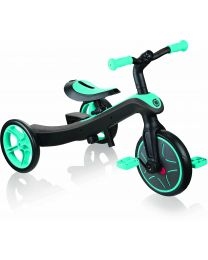 Globber Trike Explorer 2 in 1 in Teal