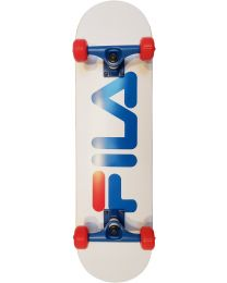 "Fila 8"" Complete Skateboard in wit"