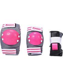 Move beschermset voor kinderen in Roze