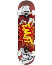 "Enuff Pow 31"" Complete Skateboard in Rood"