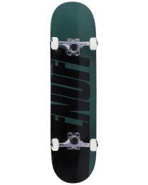 Enuff skateboard Half Stain groen