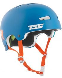 TSG Evolution Graphic helm in Cali Blauw