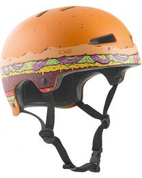 TSG Evolution Graphic helm in Burger