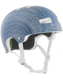 TSG Evolution Graphic helm in Denim Blauw