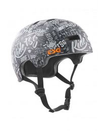 TSG Evolution Design Helm in Stickerbomb