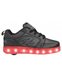 Heelys Led Premium 2 Lo in Zwart en Grijs (2019 model)