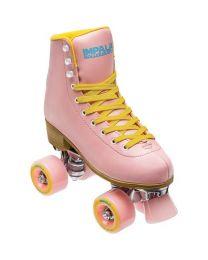 Impala Quad Roller Rolschaats  in Roze en Geel