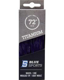 Blue Sports Wax Lace Purple