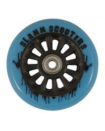 Slamm Nycore 100mm Nylon Stuntstep Wiel in Blauw met Zwarte Kern