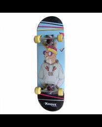 "Move 28"" Skippy Skateboard"