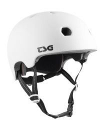 TSG Meta Helm Solid White