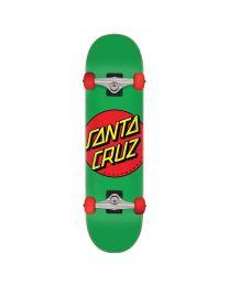 "Santa Cruz Complete Skateboard Classic Dot Groen 7,8"""