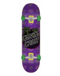 Santa Cruz Skateboard Glow Dot in Paars 7,25""