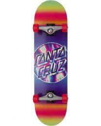 "Santa Cruz Complete Skateboard Iridescent 8,25"""