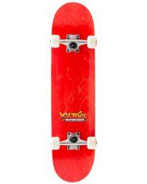 "Enuff Voltage Graffiti Skateboard 7.75"" in Rood"