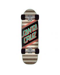 Santa Cruz Street Skate Cruiser in Zwart, Roze & Turquoise